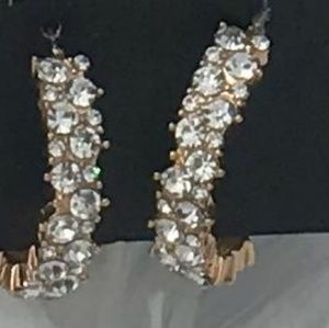 Gold and Studs Earrings